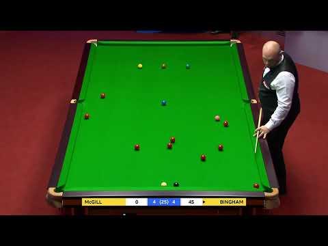 Stuart BINGHAM's Audacious Red | 2021  World Championship