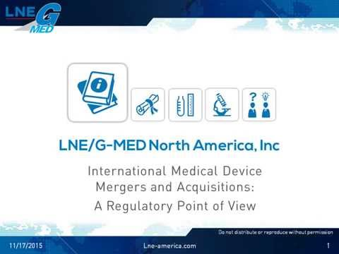 Medical Device Compliance during Merger and  Acquisition and the role of Notified Bodies