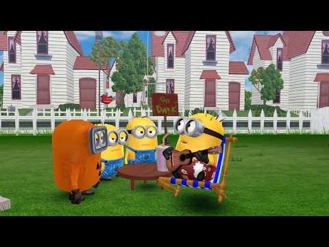 Despicable Me 3 Minion Rush, Monster Minions Beach Vacation Minions Movie