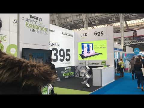 LED - Rental & Hire at Confex 2018 LEDskin London Audio Visual Ltd AV