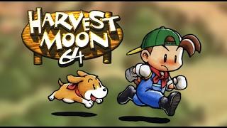 Harvest Moon 64 (Wii U) Nintendo eShop - Virtual Console N64 - European Trailer | Nintendo Hall