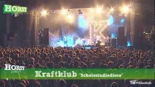 kraftklub   scheissindiedisco horst festival 2012