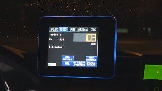 スウェーデンのタクシーに乗ってみた!日本より結構高かった!