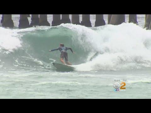 Vans US Open Of Surfing Kicks Off In Huntington Beach