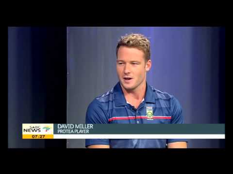 David Miller on the ICC Cricket World Cup