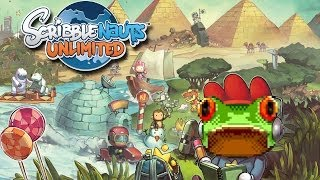 Scribblenauts Unlimited (Wii U) | Rezension ( Review / Test ) | LowRez HD | deutsch