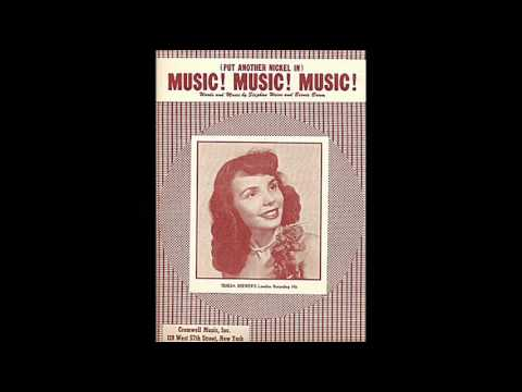 Teresa Brewer - (Put Another Nickel In) Music! Music! Music! (1950)