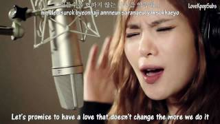 Download Gummy & Bobby Kim - Love recipe II MV [English subs + Romanization + Hangul] HD MP3 song and Music Video