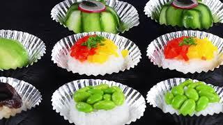 Recipe: Vegetarian Sushi Cakes