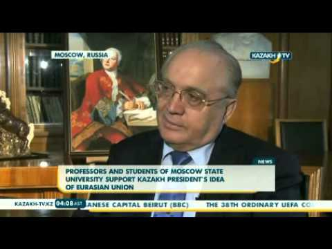 Professors and students of MSU support Kazakh President`s idea of EU