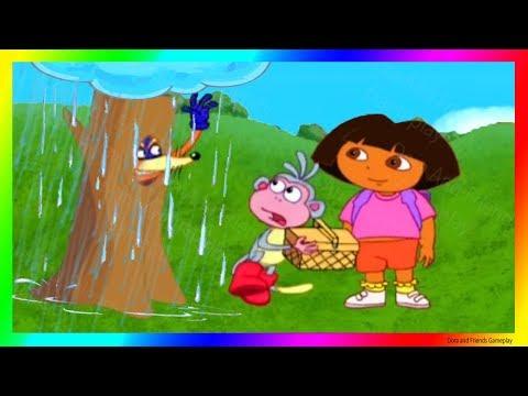 Dora The Explorer Games To Play Cartoon 💖 Dora And The Rainy Day  Dora Buji In Tamil