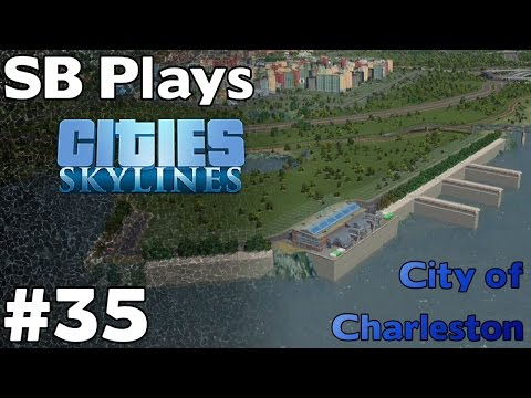 Using the Terraforming Tool - SB Plays Cities Skylines ep35