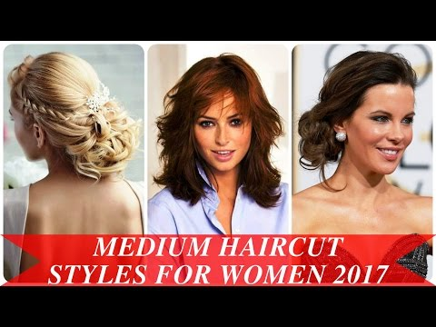 Medium Haircut Styles For Women 2017 Youtube
