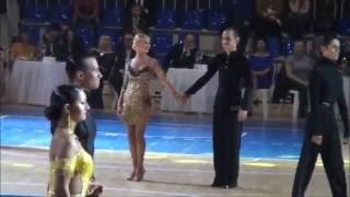 Танцуют Олег и Василис, Самба, ТСК Вариант, Ульяновск [HD](Танцоры S класса! Ансамбль спортивного бального танца