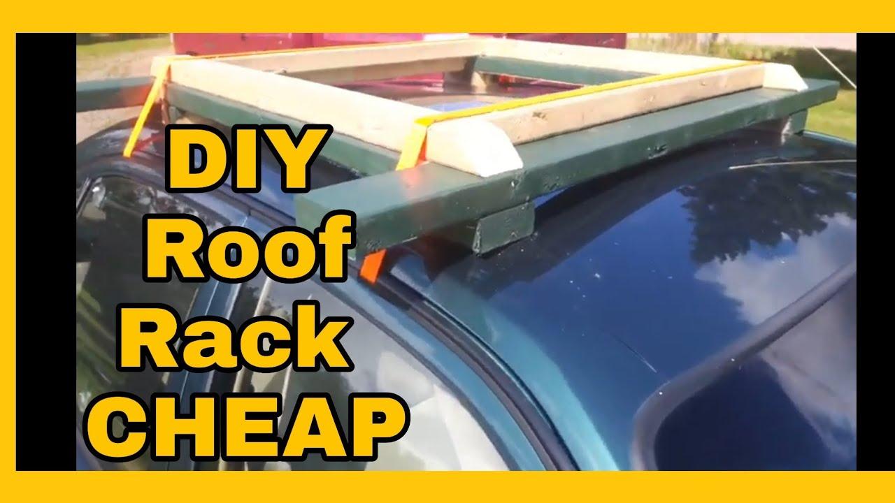 diy wooden roof rack cheap easy