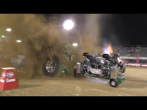 Tractor Pulling 2021 Lucas Oil Super Modified Tractors In Action Benson, NC Session 1