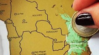 видео скретч карта мира