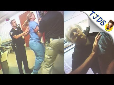 Crazy Cop Brutalizes A Nurse Inside Hospital In Utah