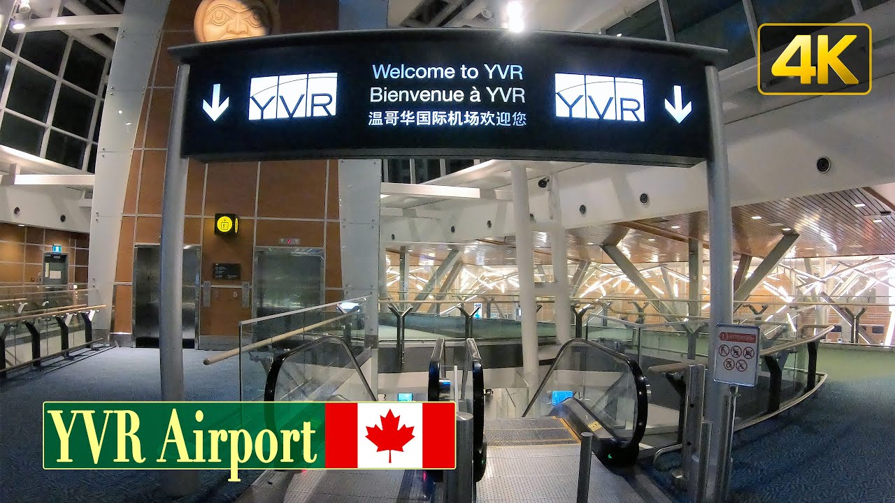 Vancouver International Airport | ...at Midnight