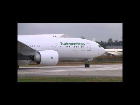 Turkmenistan 777 Takeoff