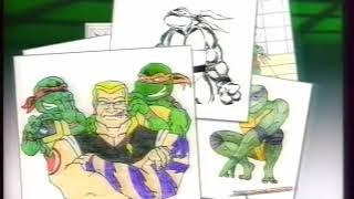 Рекламная заставка ТВ3 и реклама мультсериала Черепашки ниндзя новые приключения #1 Версия 1