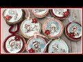 TUTORIAL Wooden Slices Christmas Ornaments | DIY | How To | Polkadoodles Winnie White Christmas