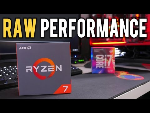 Ryzen 1700 vs i7 7700K | An Unbiased Look at Benchmarks