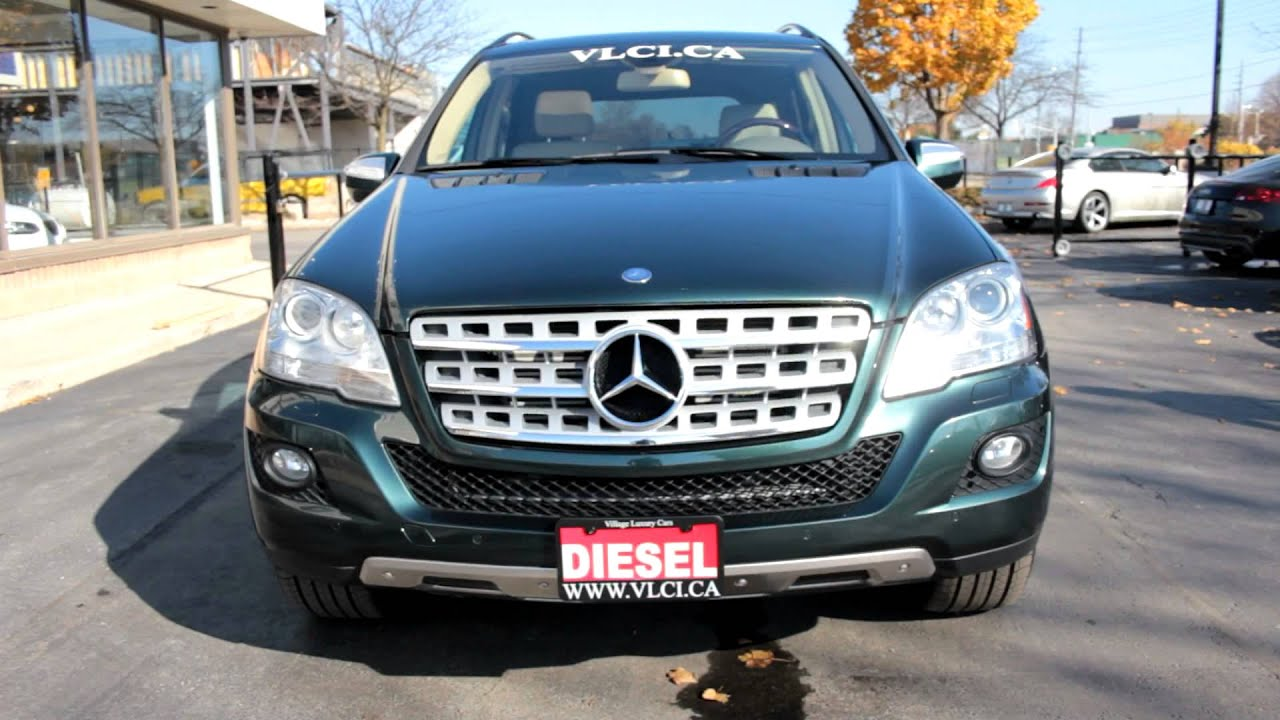 2009 mercedes benz ml320 bluetec village luxury cars toronto youtube