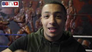 Zelfa Barrett first day back training, reflects on his 16th pro win at the Manchester Arena