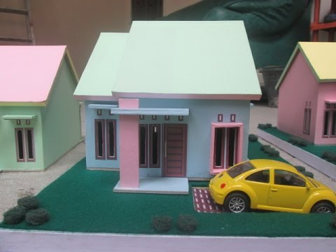 Model Miniatur Rumah Youtube