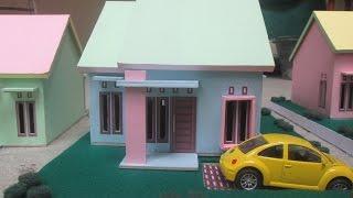 Model Miniatur Rumah