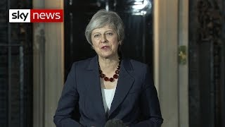 Watch Theresa May's Brexit statement in full