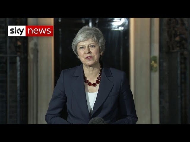 Watch Theresa Mays Brexit statement in full