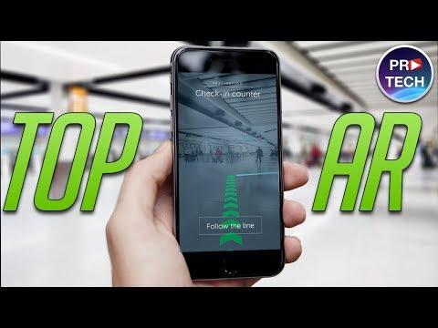 ТОП-10 лучших бесплатных приложений с дополненной реальностью (AR) для IPhone и IPad (+ССЫЛКИ)