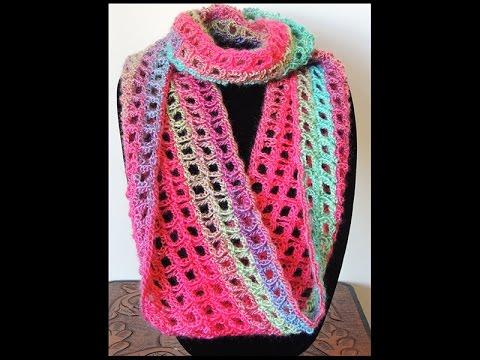Crochet  Bufanda Infinita  5
