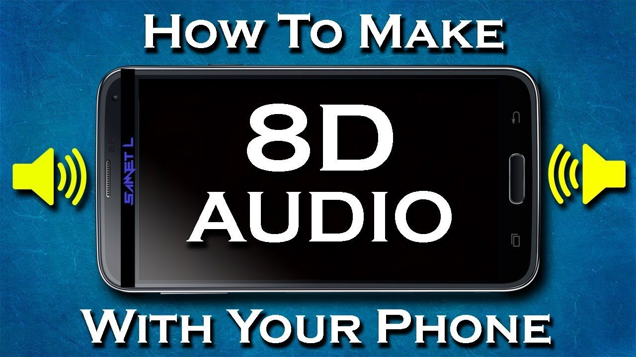 How To Make An 8D Song/Audio With Your Phone/ In 5 Minutes/ (Kinemaster)