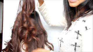 Curly hair tutorial with a straightener! Thumbnail