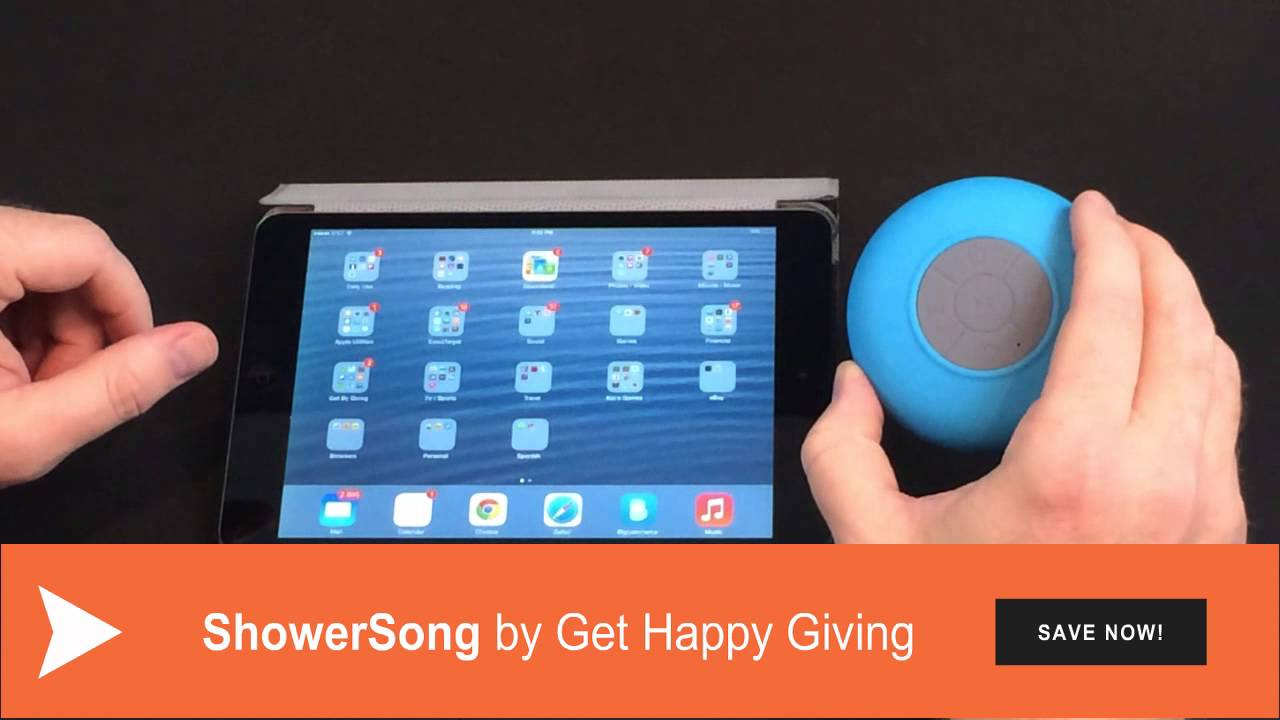 Showersong Bluetooth Waterproof Wireless Shower Speaker How To