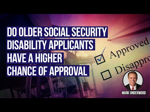 Do older Social Security Disability applicants have higher chance of approval?