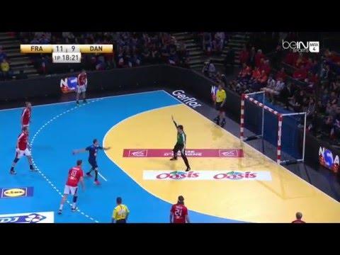 Goals Michael Guigou Golden League France 36-28 Danemark - 10/01/2016