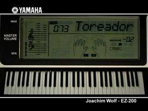joachim wolf and the yamaha ez 200 youtube. Black Bedroom Furniture Sets. Home Design Ideas