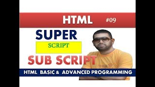 Apply Superscript & Subscript in HTML |infoguru