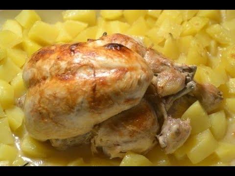 poulet-entier-vin-blanc-pommes-de-terre-au-cookeo