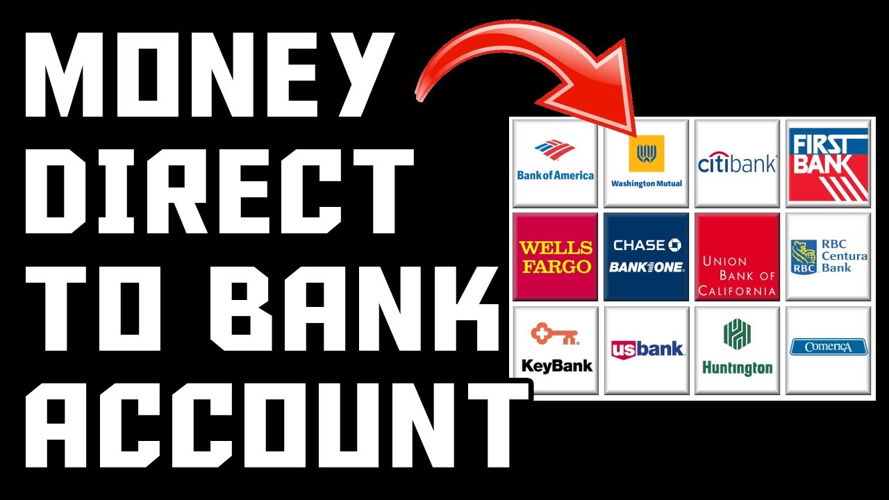 Make Money Online Directly To Your Bank Account FAST u0026 EASY