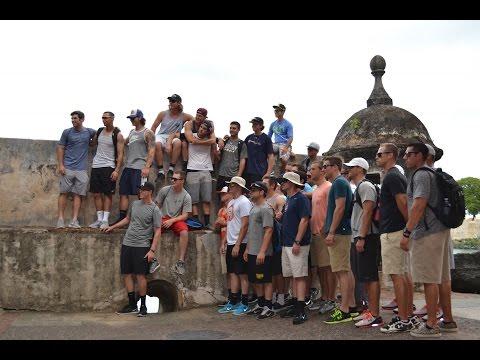 Campbell Baseball - Old San Juan Tour - Puerto Rico - Day 2