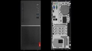 Open the LENOVO V520 Tower box Lenovo V520 Tower unboxing and setup.