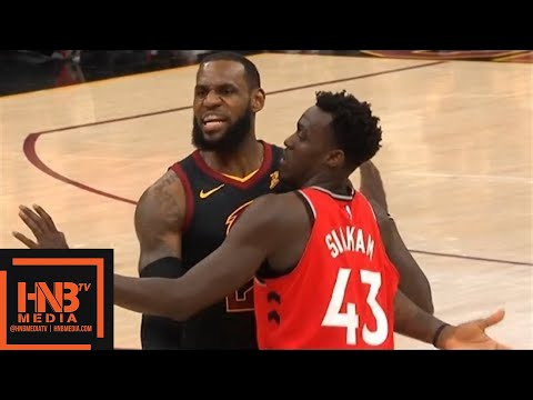 Cleveland Cavaliers vs Toronto Raptors 1st Half Highlights / Game 3 / 2018 NBA Playoffs