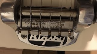 EZ Bigsby Mod 4 Easy String Changes - Vibramate String Spoiler For Bigsby Vibratos
