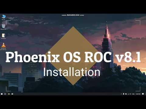 Phoenix OS ROC V8.1 Installation ( EASY!!) (Compiling Resources Fix)