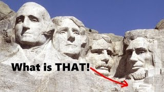 Mt Rushmore is Morphing Right Now!  And it has a secret hidden room!
